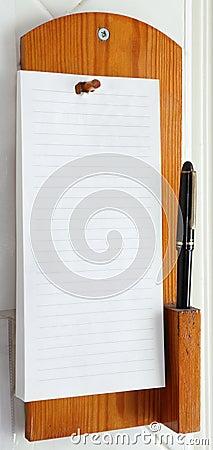 Telephone Note Pad
