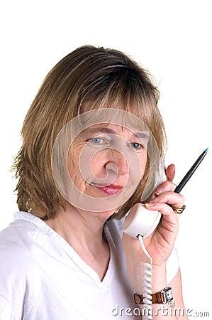 Free Telephone Nurse Royalty Free Stock Photos - 689858