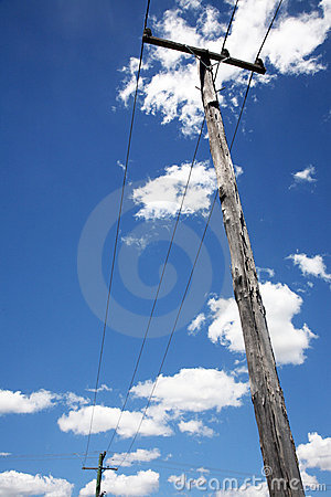 Free Telephone Poles With Wires Royalty Free Stock Images - 12780779