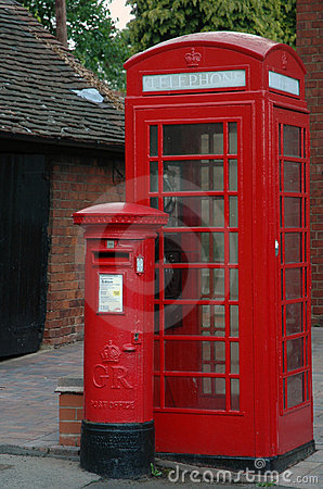 Telephone and Post Boxes
