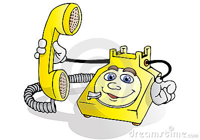 Telephone service call