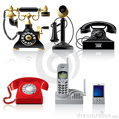 Free Telephone Sets Stock Photo - 3243880