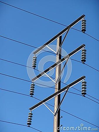 telephone wire pole stock photo image 2002270