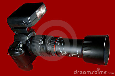 Telephoto Camera Red w/Paths