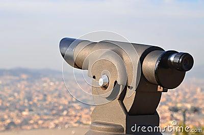 Telescope in Barcelona