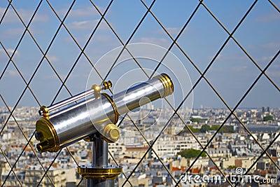 Telescope on the Eiffel Tower
