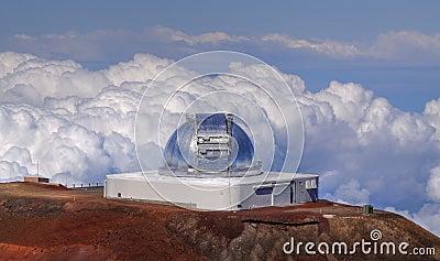Telescope at Mauna Kea (Hawaii)