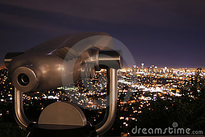 Telescope at Night 2