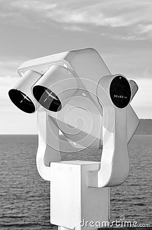 Telescope on the sea
