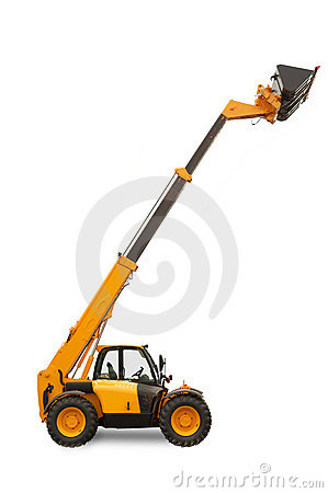 Free Telescopic Handler Stock Photography - 1092812