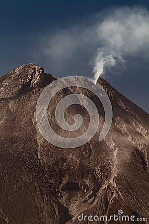Free Teleshot Of Merapi Vulcano Stock Image - 24566681