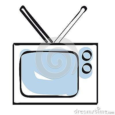 televisie stock afbeeldingen afbeelding 9005554