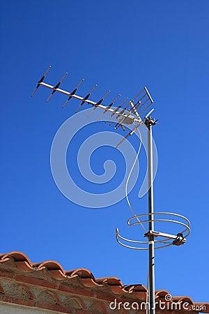 Free Television Antenna Stock Photo - 5353720
