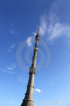 Television and broadcasting tower