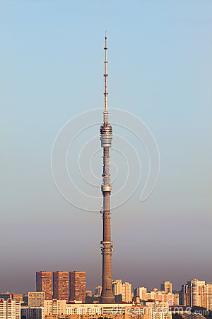Television and broadcasting tower Ostankino