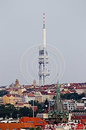 Television broadcasting transmitter