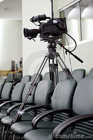 Free Television Camcorder Stock Photography - 9414142
