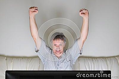 Television cheer