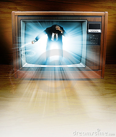 Television man