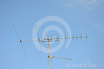 Television rooftop Antenna