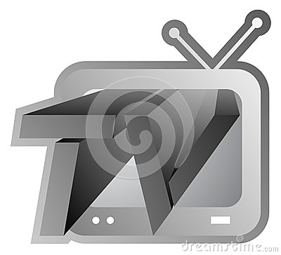 Television screen icon