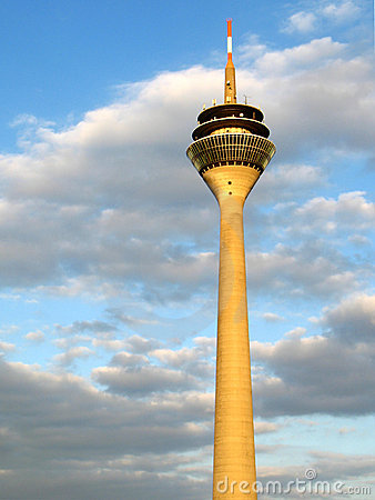 Television tower in Düsseldorf