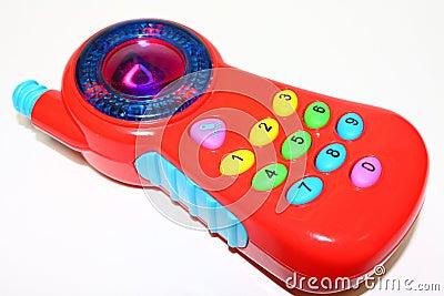 Teléfono celular del juguete