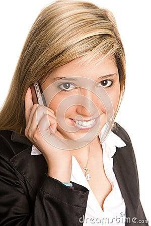 Teléfono de la mujer