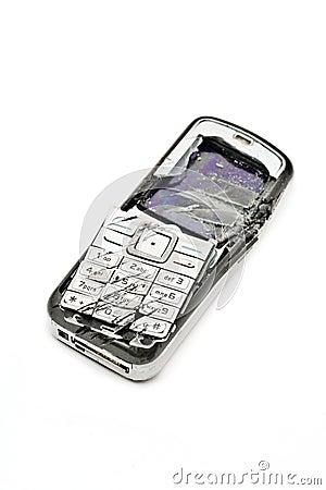 Resultado de imagen para celular roto
