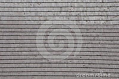 Telha de madeira do telhado