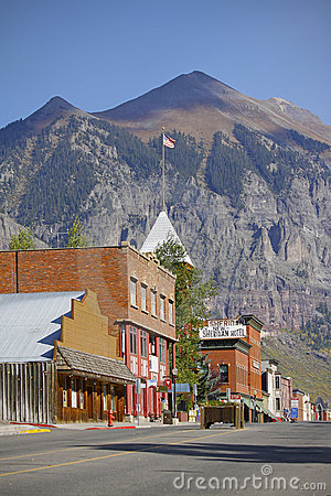 Telluride Colorado Editorial Stock Photo