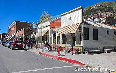 Tellurure le Colorado Image stock éditorial