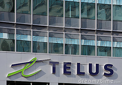 Telus House Editorial Stock Image