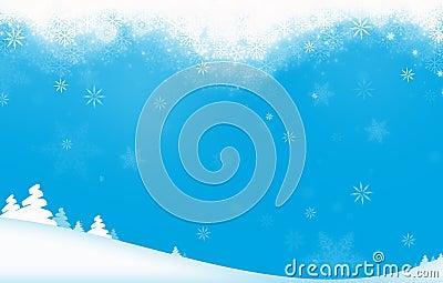 Tema del día de fiesta de invierno