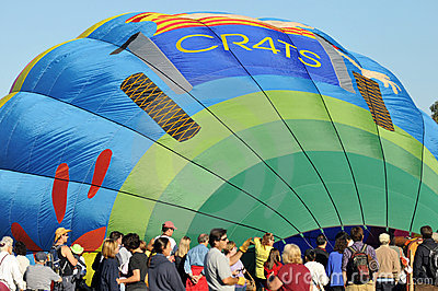Temecula Balloon and Wine Festival Editorial Image