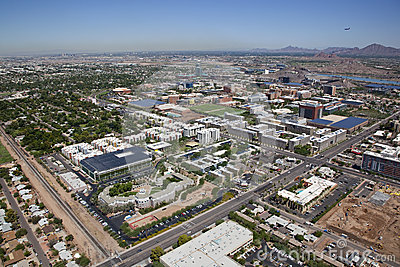 Tempe Skyline Royalty Free Stock Photos - Image: 26500388
