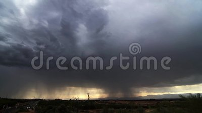 Tempesta con i bulloni video d archivio