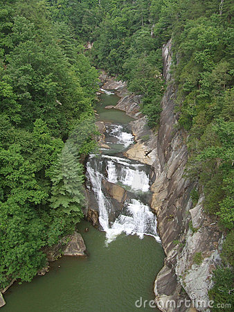Free Tempesta Falls At Tallulah Gorge State Park Stock Photos - 5353683