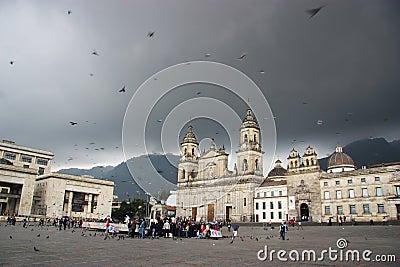 Tempestade de aproximação Fotografia Editorial