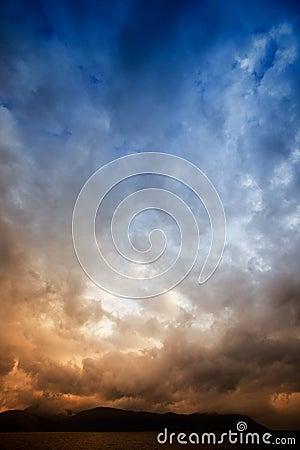Tempestade do mar