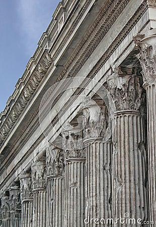 Tempiale del Adrian - Roma - Italia