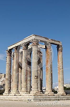 Tempiale dello Zeus di olimpionico