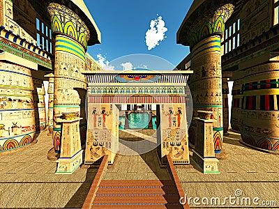 Tempio egiziano