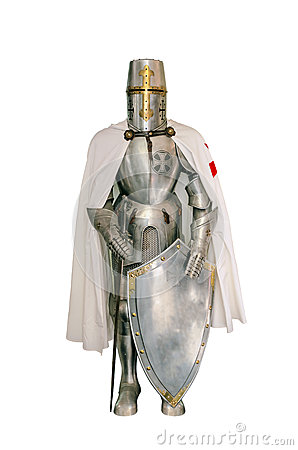 Free Templar Knight Royalty Free Stock Images - 43564379