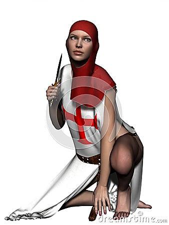Templar woman