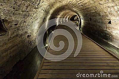 Templariusza tunel w Acco
