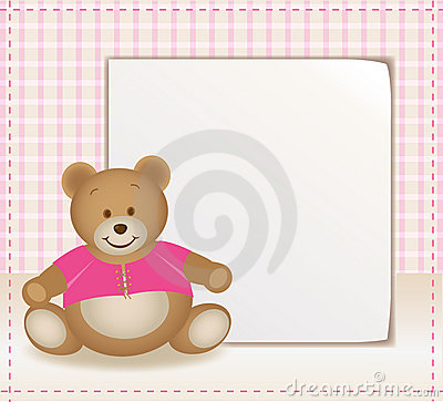 Template with bear