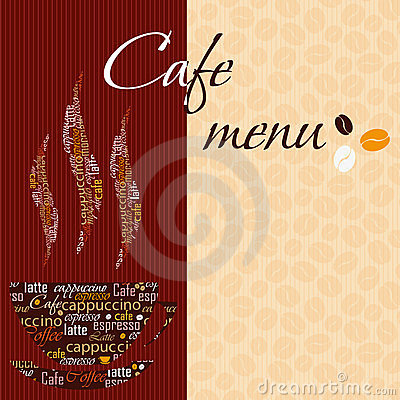 Template Of A Cafe Menu Royalty Free Photos Image 23437718 – Cafe Menu Templates Free Download