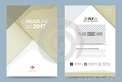 printing press brochure template - template design stock vector image 74353618