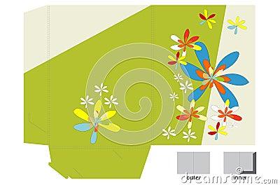 Template for folder design
